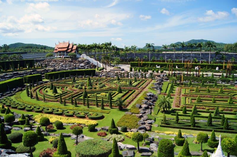 Het park van Nice royalty-vrije stock afbeelding