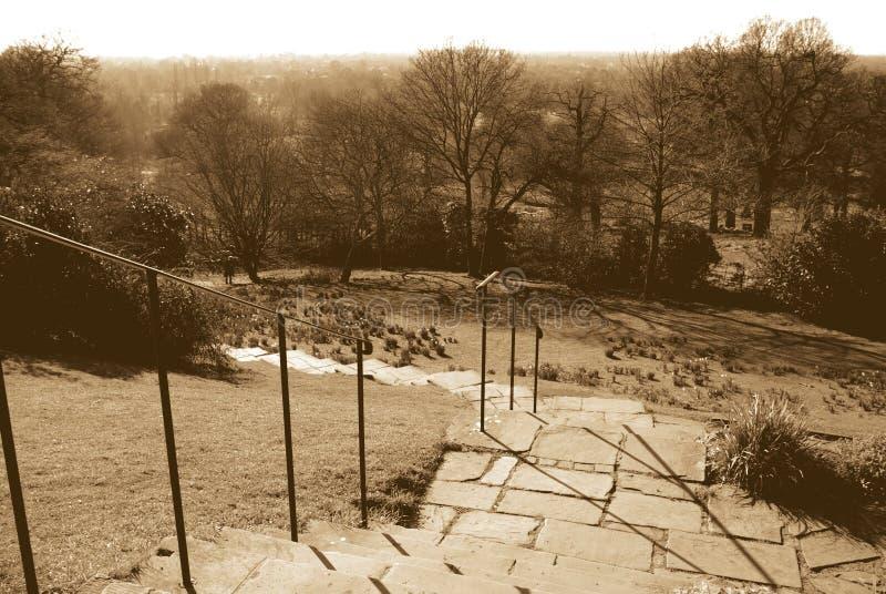 Het Park van Richmond stock afbeelding
