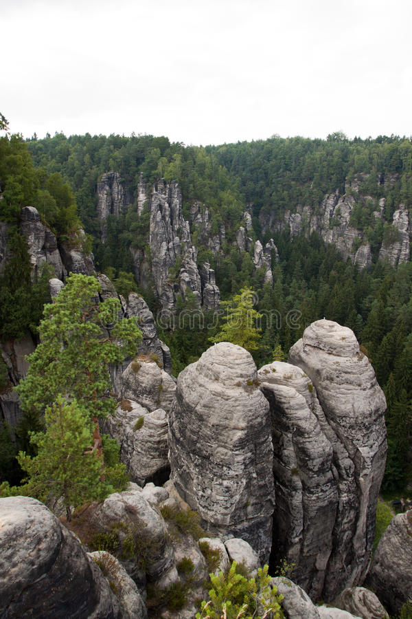 Het park van Saksen in Duitsland stock fotografie