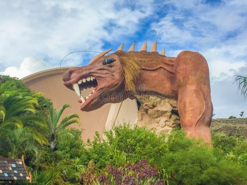 Het park van Tenerife Siam stock foto