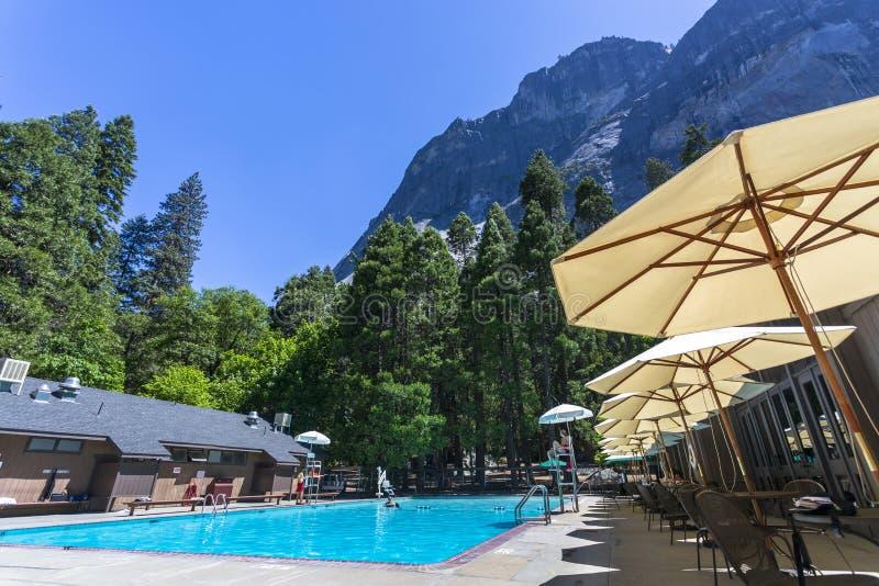 Het Park van Yosemitenacional stock fotografie