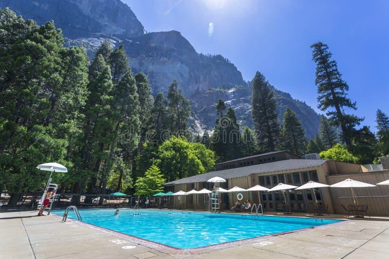 Het Park van Yosemitenacional royalty-vrije stock afbeelding