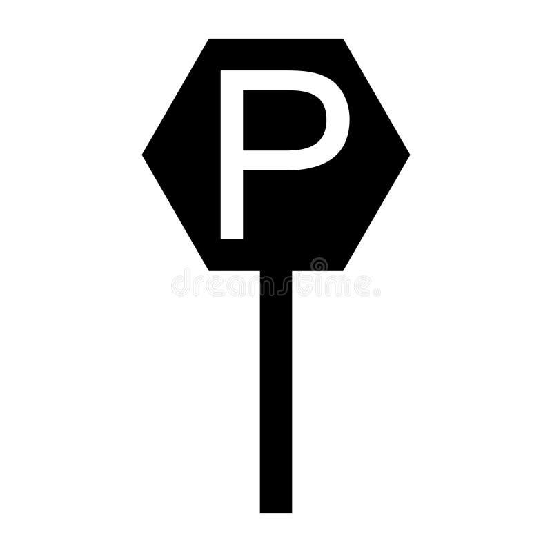 Het parkeren grafisch ontwerp, vectorillustratie - Vector stock illustratie