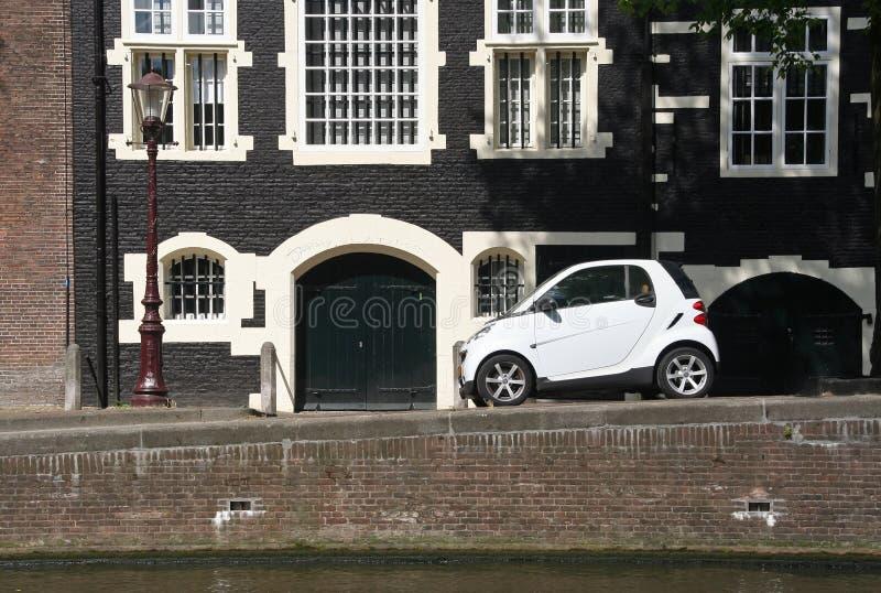 Het Parkeren van Amsterdam stock afbeelding