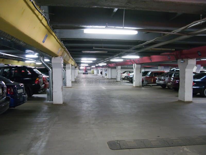 Het parkeren van de auto royalty-vrije stock foto's