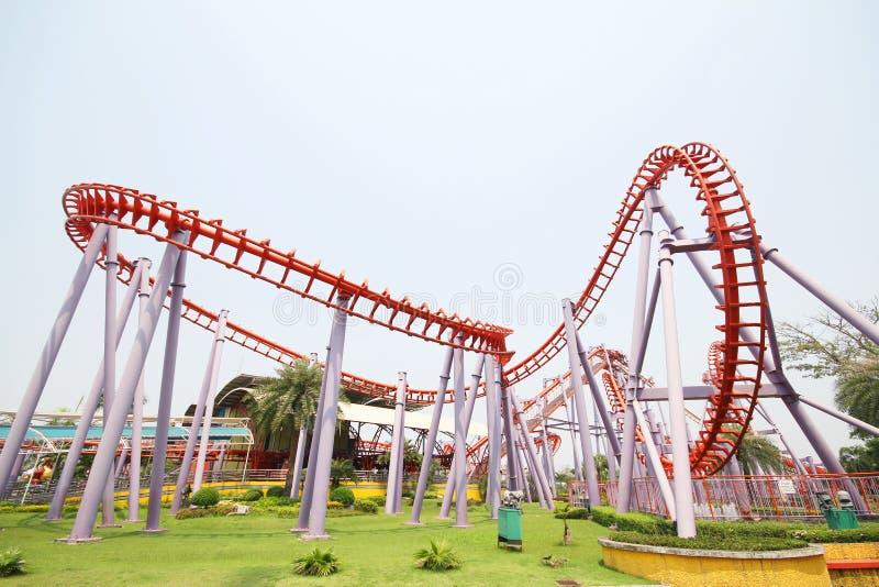 Het parkstad van Siam, Suan Siam, Bangkok Thailand stock afbeelding
