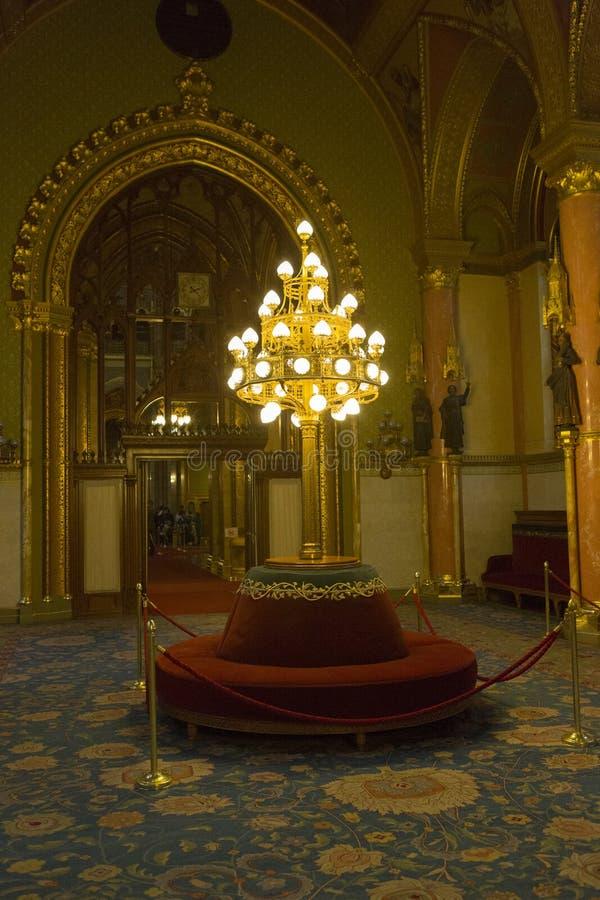 Het Parlement Boedapest stock foto's