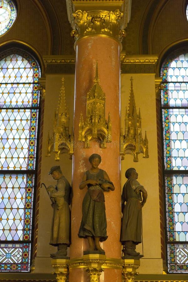 Het Parlement Boedapest royalty-vrije stock afbeelding