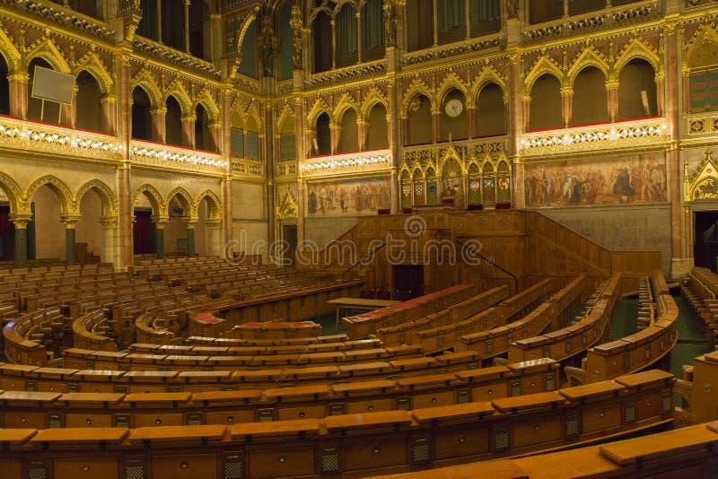Het Parlement Boedapest royalty-vrije stock foto's