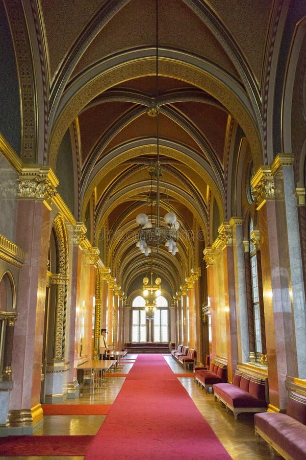 Het Parlement Boedapest stock afbeeldingen