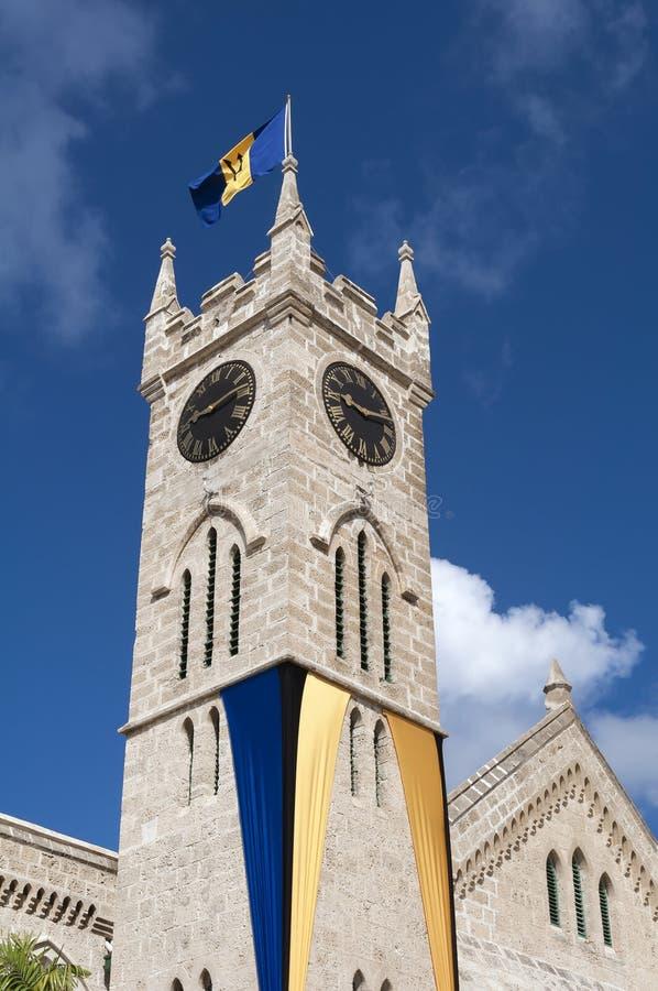 Het Parlement van Barbados royalty-vrije stock foto
