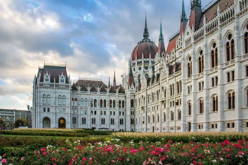 Het Parlement van Boedapest - Hongarije stock afbeelding