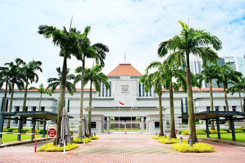 Het Parlement van Singapore royalty-vrije stock afbeelding