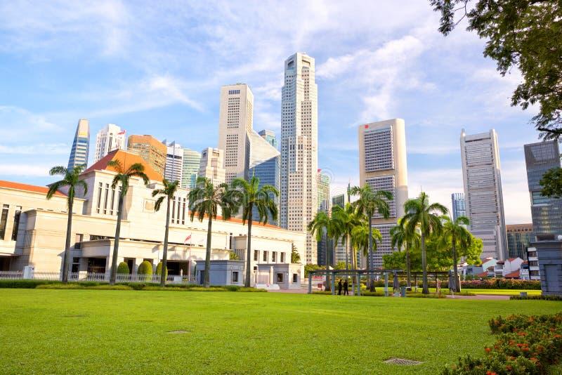 Het Parlement van Singapore royalty-vrije stock fotografie