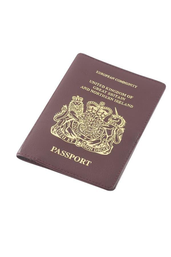 Het paspoort van de EG royalty-vrije stock foto's