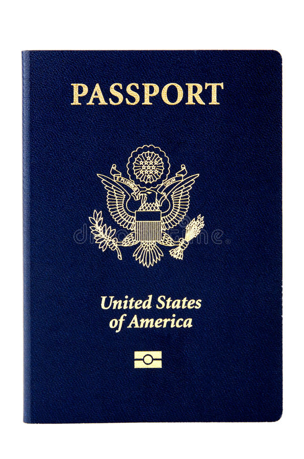 Het Paspoort van de V.S. royalty-vrije stock foto's