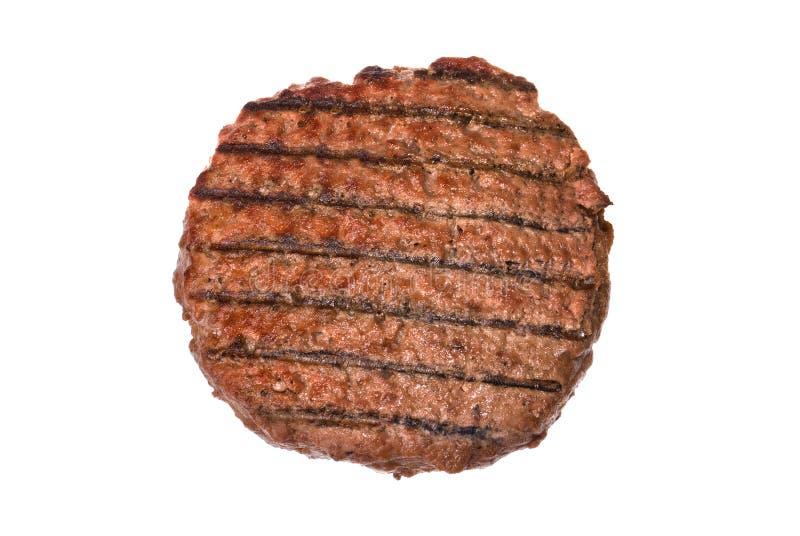 Het pasteitje van de hamburger royalty-vrije stock foto's