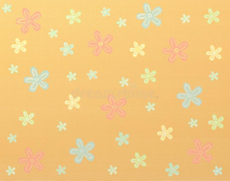 Het patroon van bloemen vector illustratie