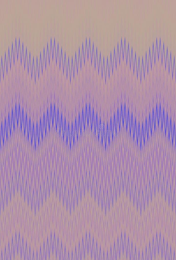 Het patroon van de achtergrond chevronzigzag samenvatting Ornamentmoza?ek royalty-vrije illustratie