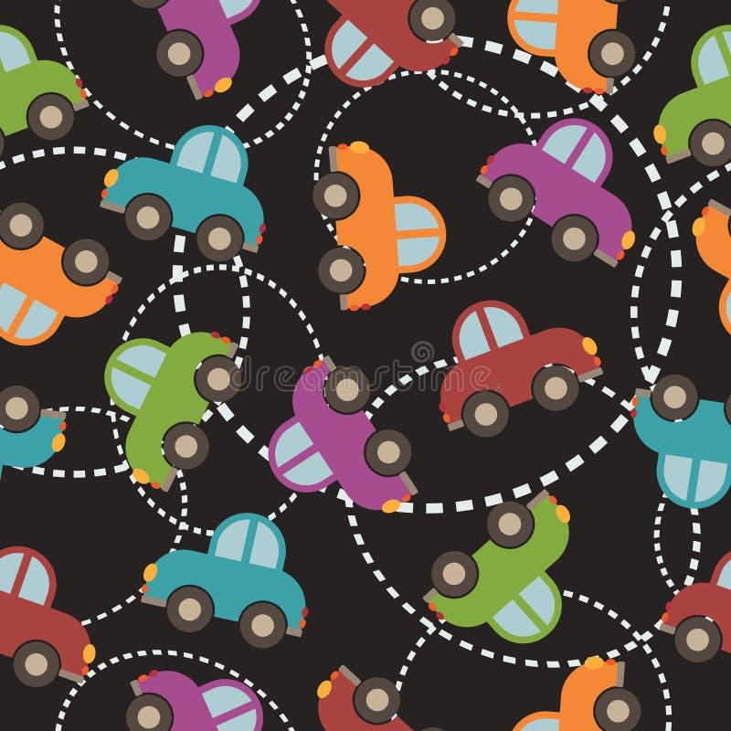 Het patroon van de auto royalty-vrije illustratie