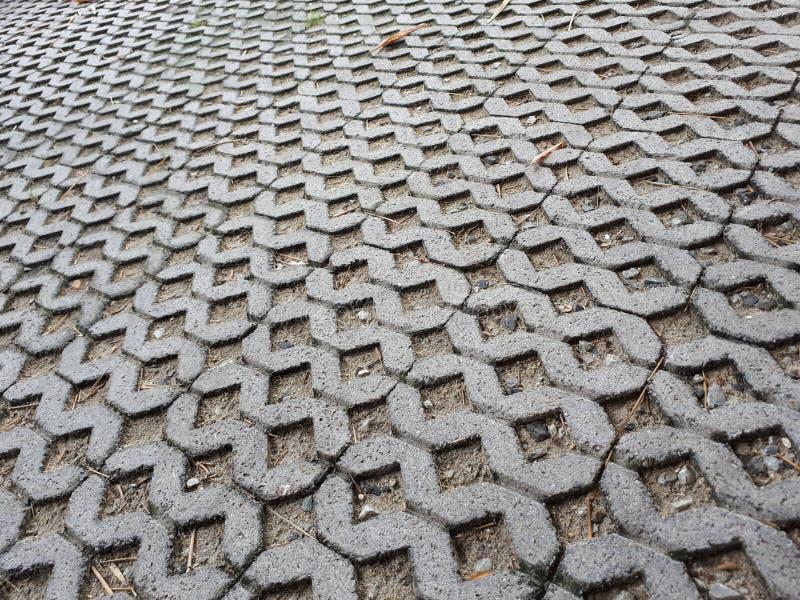 Het patroon van de baksteenworm royalty-vrije stock foto's