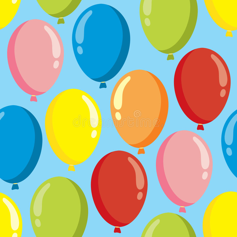 Het patroon van de ballon vector illustratie