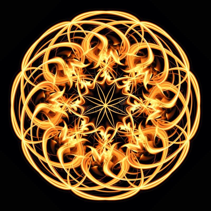 Het patroon van de brand vector illustratie