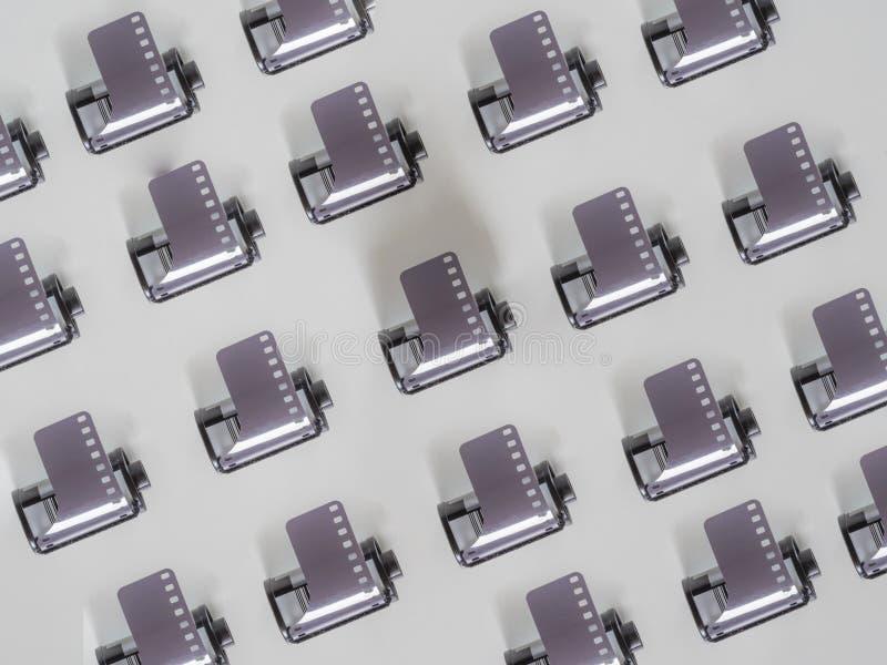 Het patroon van de het broodjescamera van de filmfoto royalty-vrije stock foto's