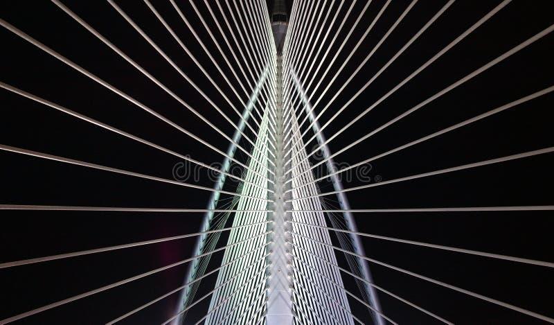 Het patroon van de brug stock afbeeldingen