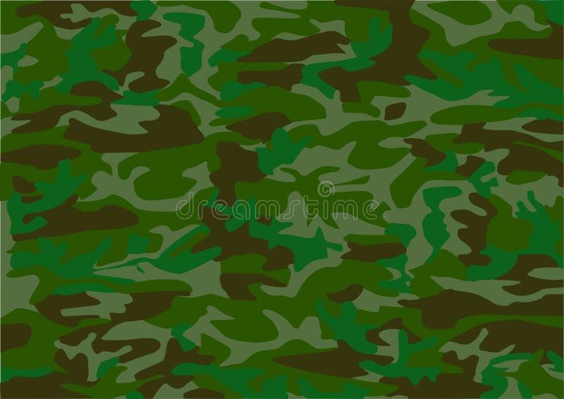 Het patroon van de camouflage vector illustratie