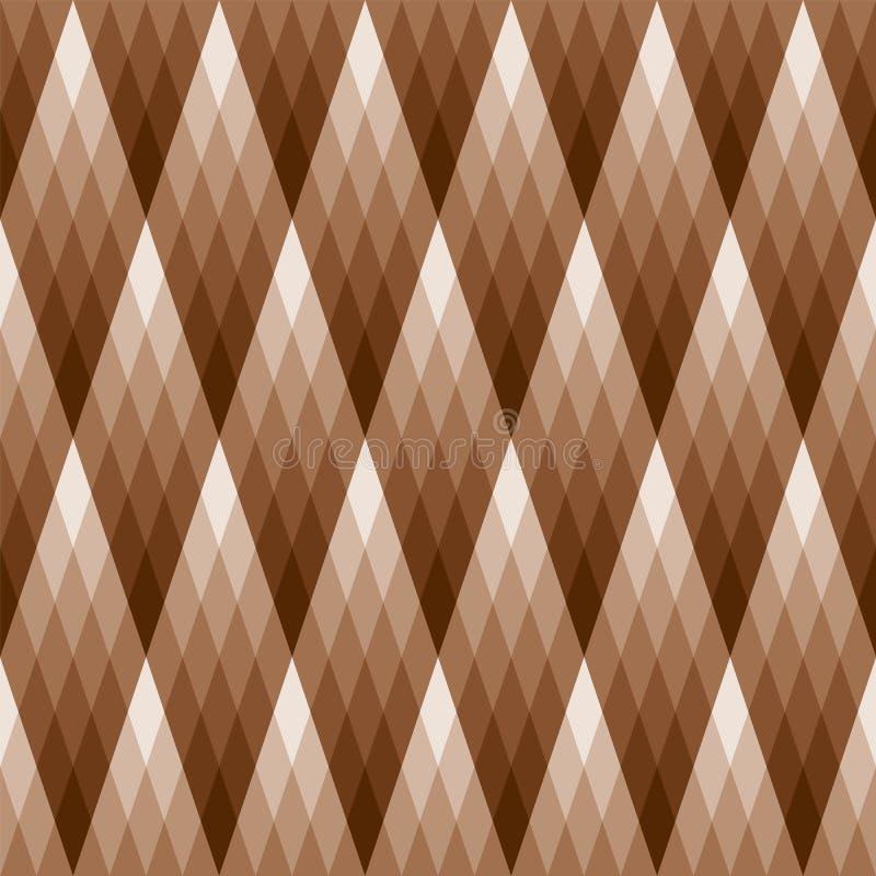 Het Patroon van de Diamant van de gradiënt royalty-vrije illustratie