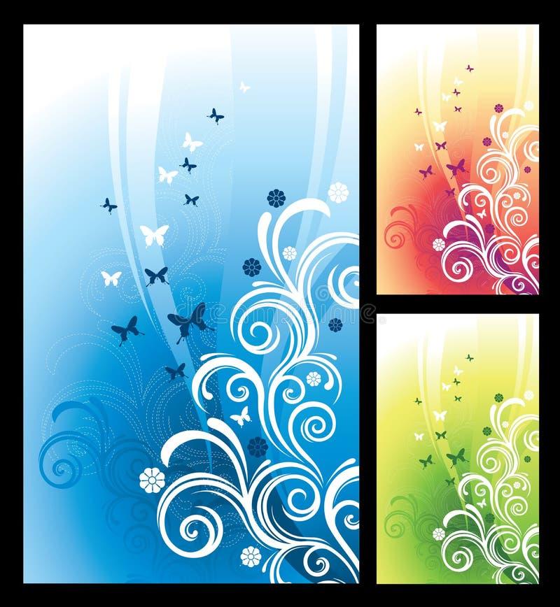 Het Patroon van de flora stock illustratie