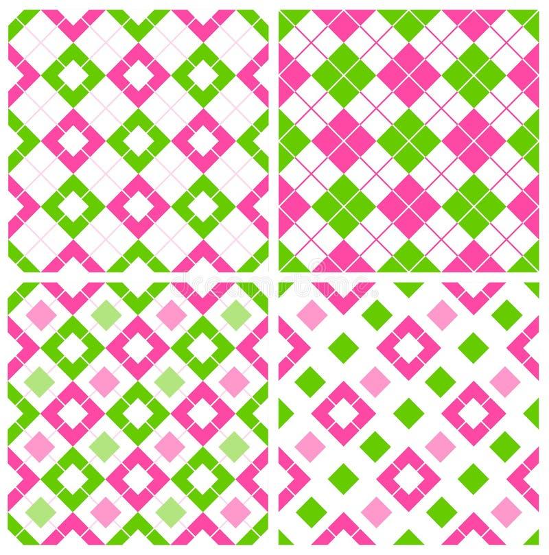 Het patroon van de gingang vector illustratie
