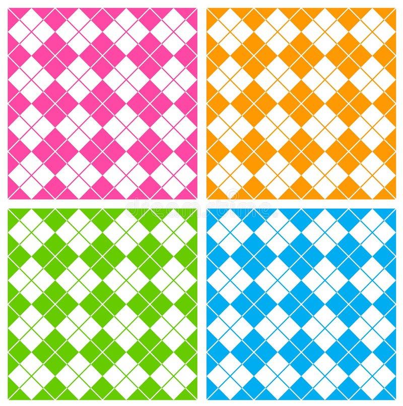 Het patroon van de gingang royalty-vrije illustratie