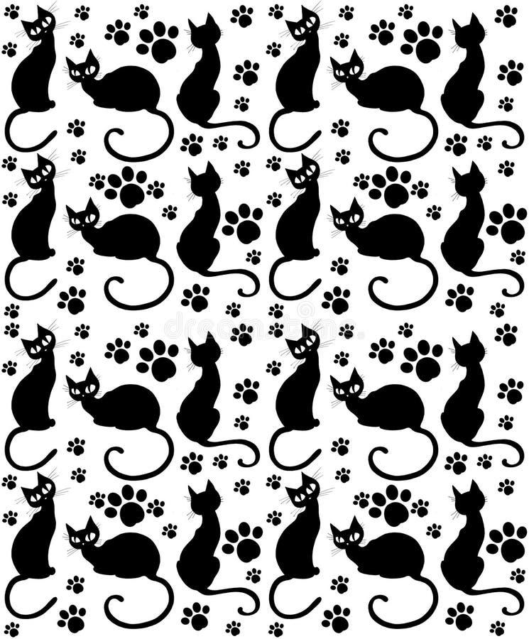 Het Patroon van de kat royalty-vrije illustratie