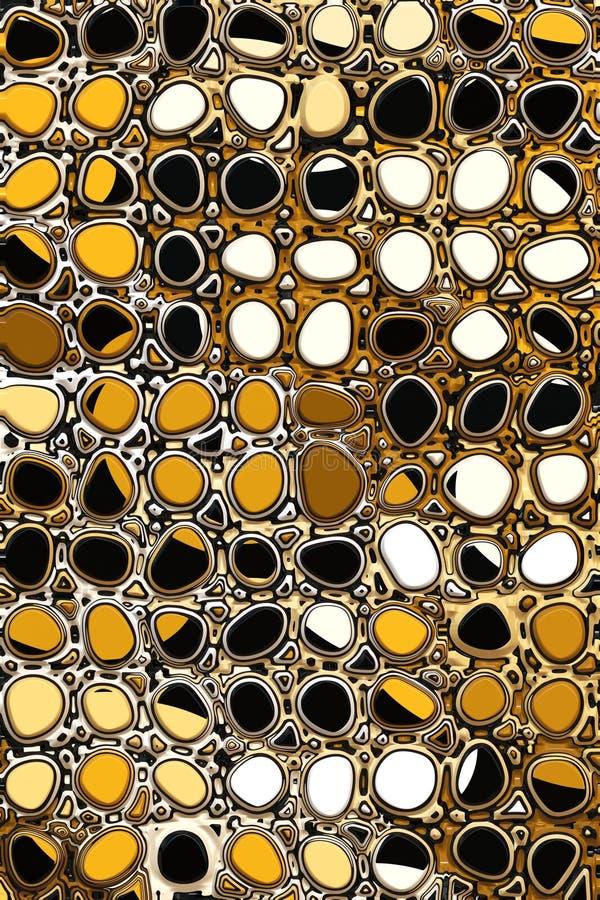 Het patroon van de kiezelsteen stock foto