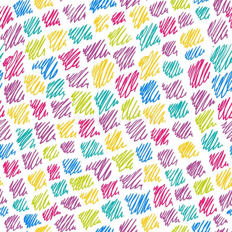 Het patroon van de kleur vector illustratie