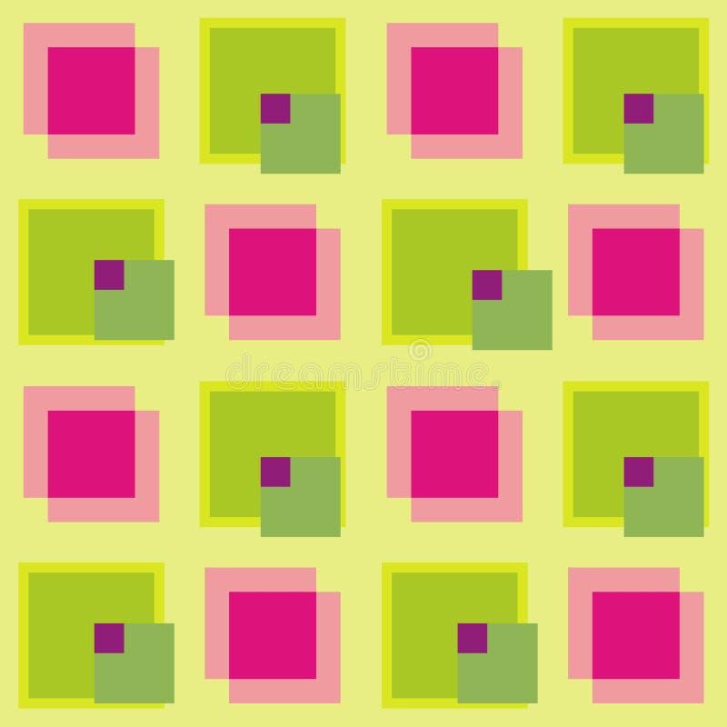 Het patroon van de kubus royalty-vrije illustratie