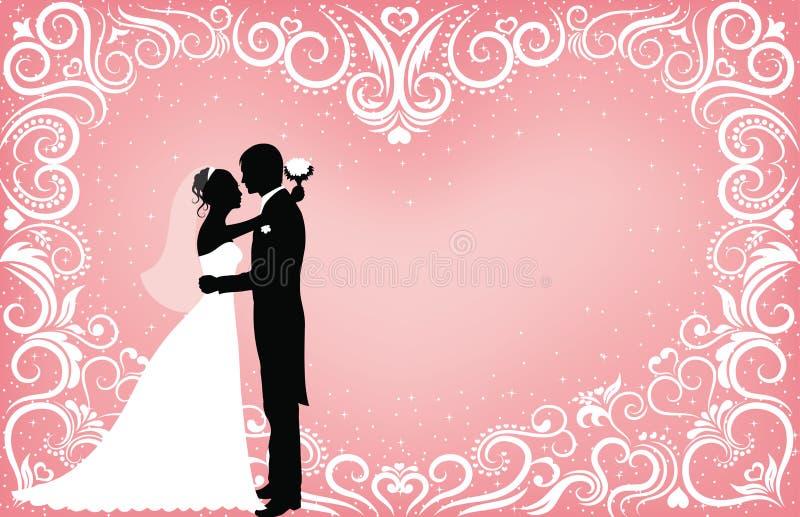 Het patroon van de liefde. stock illustratie