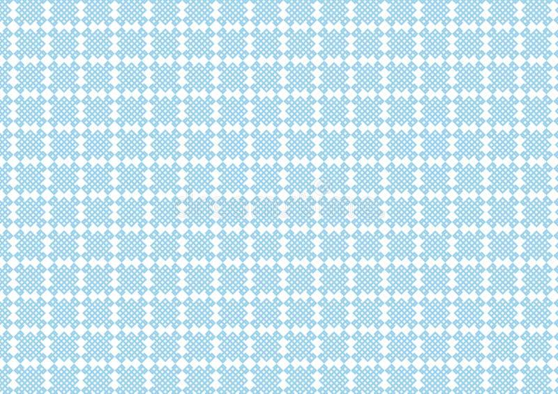 Het patroon van de netdoos stock illustratie