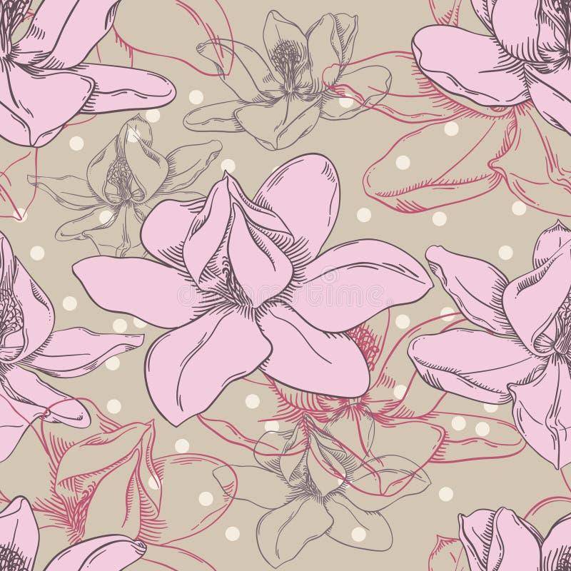 Het Patroon van de orchidee stock foto's