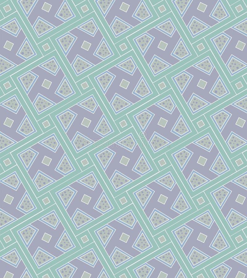 Het patroon van de pastelkleur stock illustratie