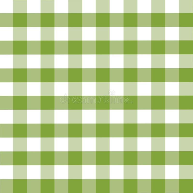 Het patroon van de plaid vector illustratie