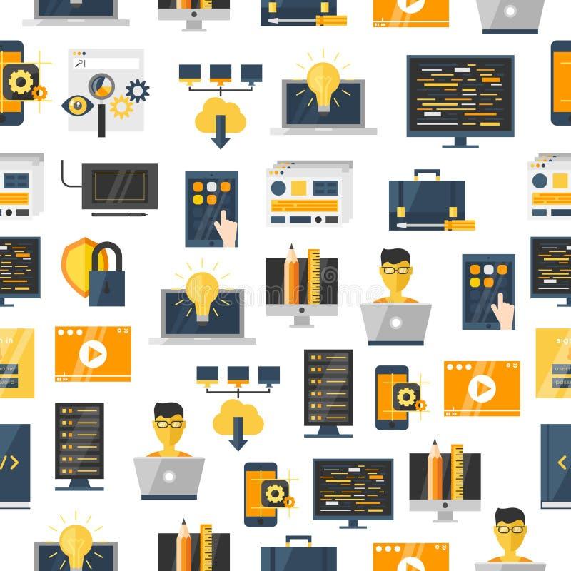 Het Patroon van de programmaontwikkeling stock illustratie