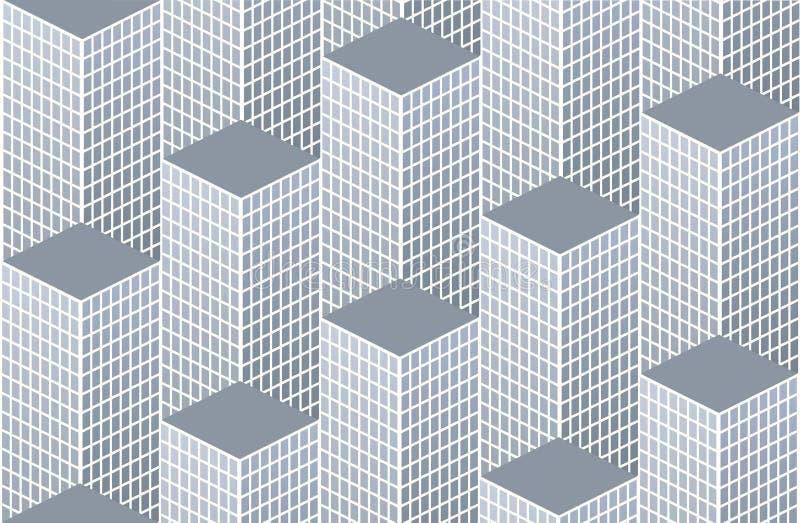 Het patroon van de stad stock illustratie