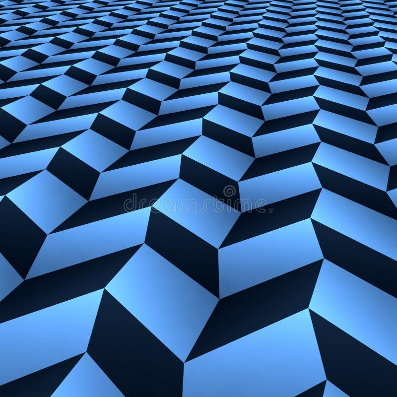 Het patroon van de stap vector illustratie