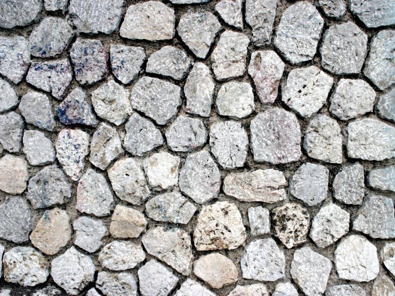 Het patroon van de steen stock afbeelding