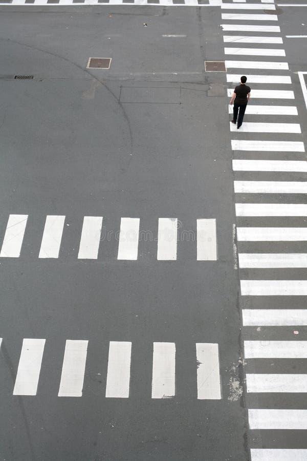Het patroon van de straat stock afbeelding
