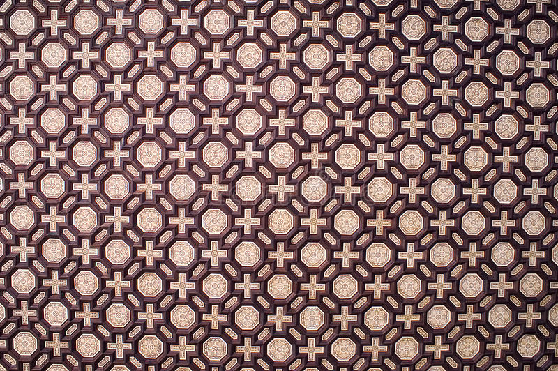 Het Patroon van de tegel stock foto