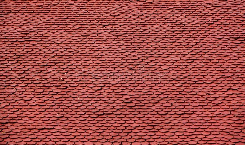 Het Patroon van de Tegel van het dak royalty-vrije stock foto's